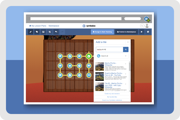 Symbaloo Learning Paths - Create online lessons now!