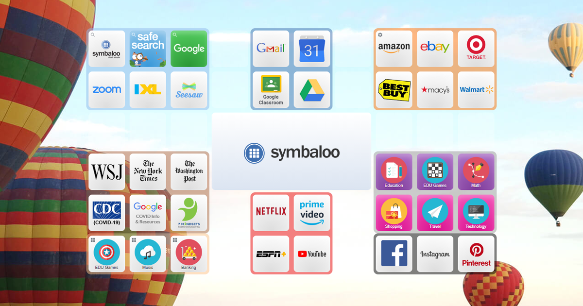 Symbaloo - Save bookmarks and favorite websites online